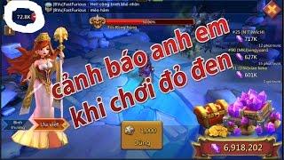 game lords mobile cảnh báo những ai muốn dùng gem để chơi đỏ đen