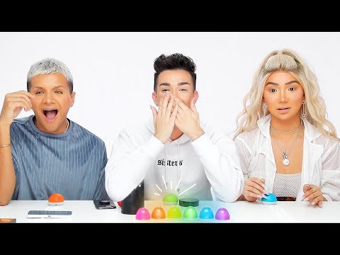 MESSY MAKEUP TRIVIA ft. Nikita Dragun & Gabriel Zamora