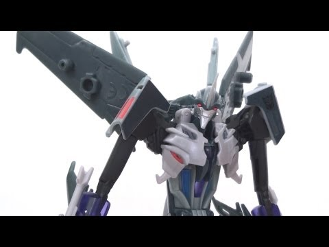 Video Review of the Transformers Prime (RiD) Voyager Class: Starscream