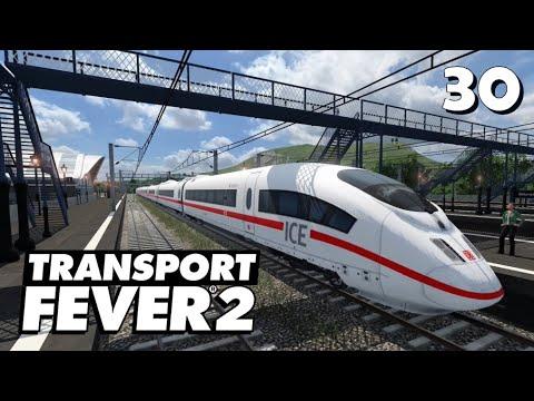 Transport Fever 2 S7/#30: Die Schnellzug-Mitfahrt auf der neuen Linie [Lets Play][Deutsch]