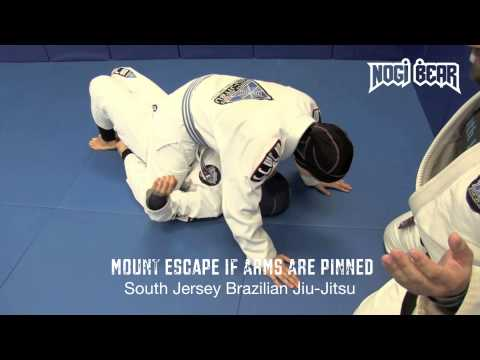 Brazilian Jiu-Jitsu for Women - Mount Escape for Self Defense by Jay Regalbuto of SJBJJ Image 1