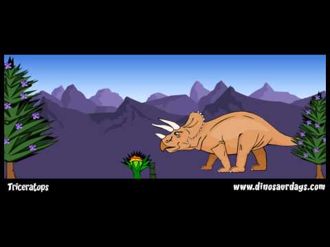 TRICERATOPS - the cretaceous period