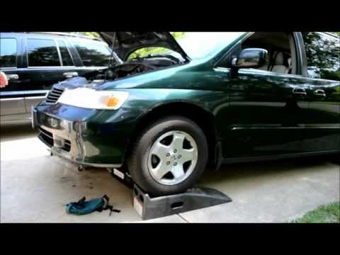 Honda Odyssey Transmission Fluid Change