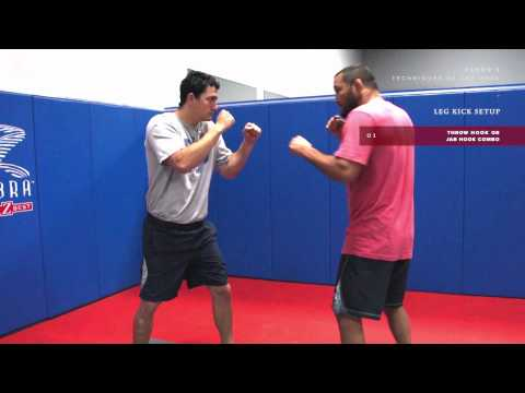 Dan Henderson MMA Techniques of the Week: Setting Up a Leg Kick Image 1
