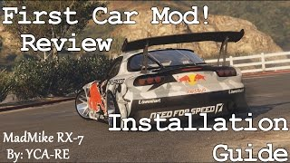 GTA 5 - Mazda RX-7 Car Mod Showcase (Review and Installation Guide)