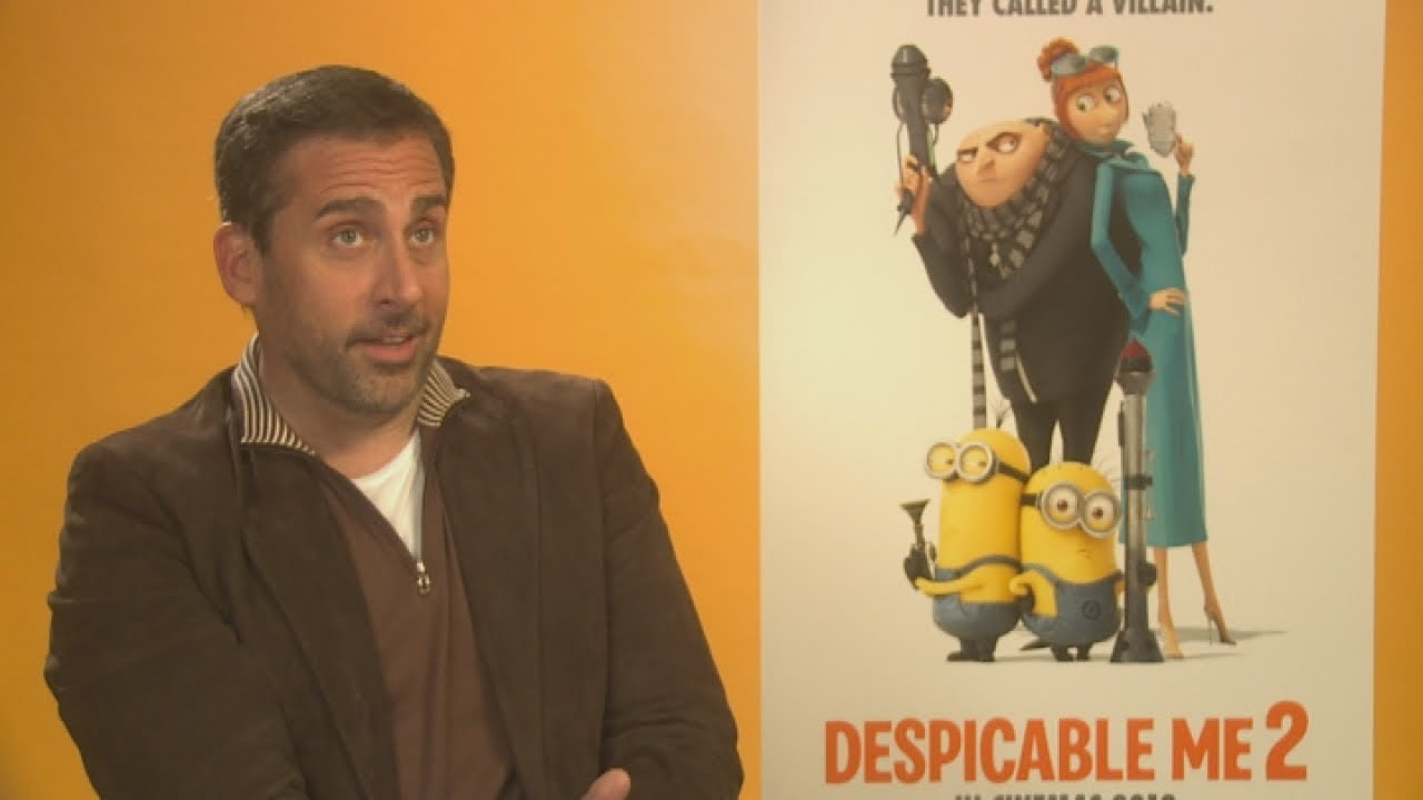 Despicable Me 2: Steve Carell in character as Gru - YouTube