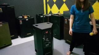 Test âm thanh loa kéo MBA DSP 15 PLUS