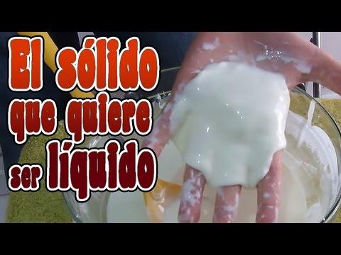 El líquido que quiere ser  sólido