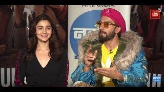 Film 'Gully Boy' Starcast Exclusive Interview | Ranveer Singh | Alia Bhatt