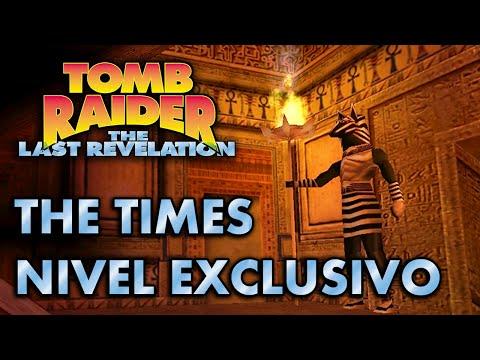 Tomb Raider 4 Vídeo-Guía en Español - Nivel Exclusivo The Times