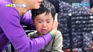 """Please save the eel T.T""...Seungjae cries his eyes out. [The Return of Superman / 2017.10.22]"