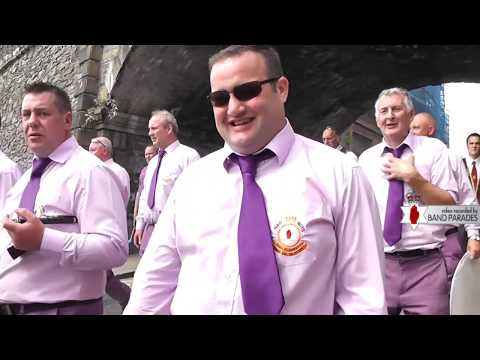 Full Clip 323rd Apprentice Boys Relief of Derry - Largest Parade Yet