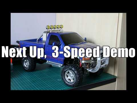 Tamiya Ford F-350 High Lift Build with 3-Speed Demo
