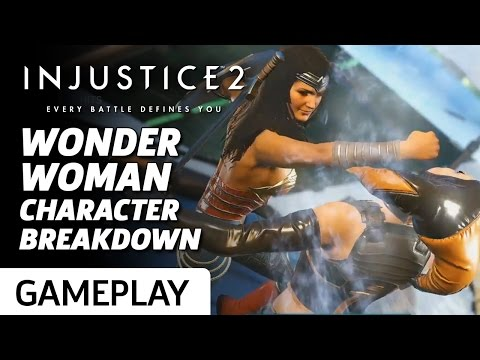 Wonder Woman Official Character Breakdown and Moveset - Injustice 2