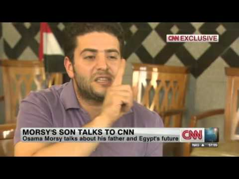 Mohamed Morsy's son: 'Dad, you are the legitimate leader' of Egypt