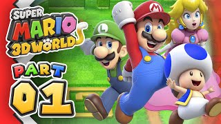 [Replay] Super Mario 3D World: Part 01 (4-Player)