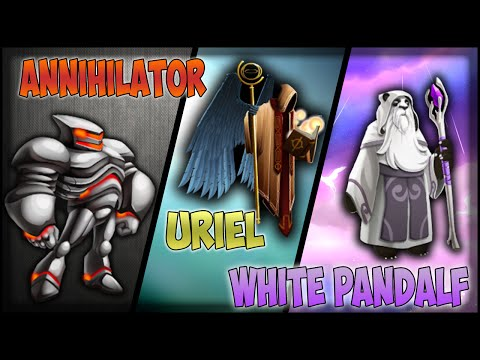 Monster Legends Mega Review - Capitulo 1 - Annihilator R2 . White Pandalf y Uriel