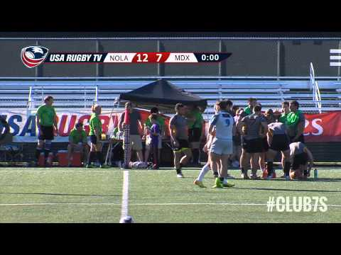 2014 Club 7s - New Orleans Royale vs. Maryland Exiles
