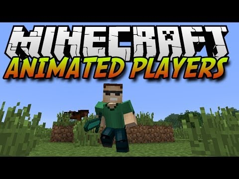 Minecraft Mods | Animated Player Models | 1.7.2/1.6.4