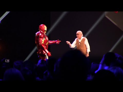 Download Iron Man Experience presentation with Stan Lee at D23 Expo 2015 Mp4 baru