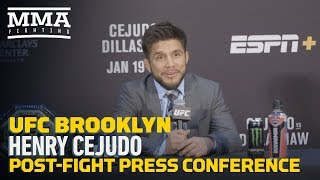 UFC Brooklyn: Henry Cejudo Post-Fight Press Conference - MMA Fighting