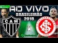 Atlético-MG 0x1 Internacional | Brasileirão 2018 | Parciais Cartola FC | 17ª Rodada |