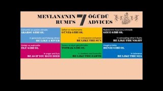 mevlana (RUMI) 7 ÖĞÜT (ADVICES)