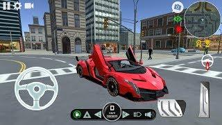 Lamborghini Veneno Car Driving Simulator - Android Gameplay
