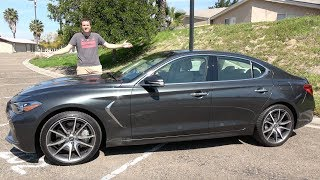 The 2019 Genesis G70 Is the Newest Luxury Sport Sedan