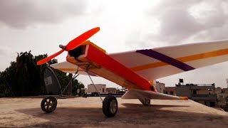 How to make Fun bat RC plane at home