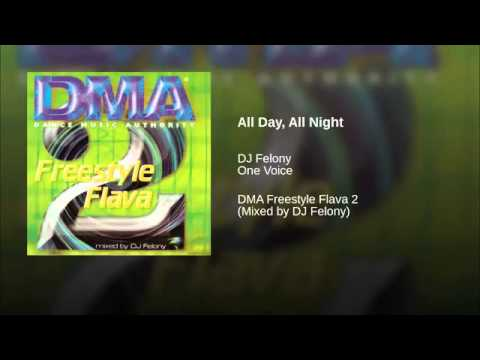 One Voice - All Day All Night