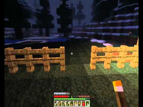 Minecraft Survival part 19  Empty animal pens