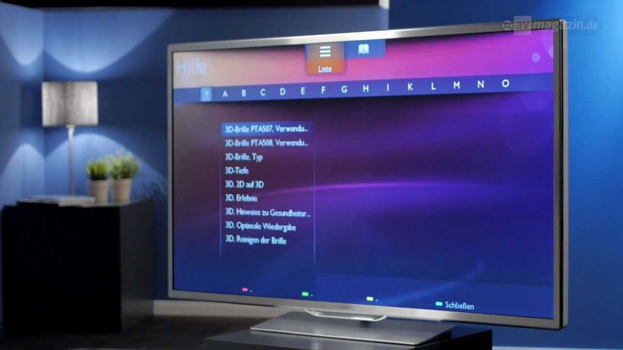 Philips 60PFL9607S 3D Direct-LED TV Test - YouTube