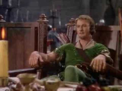 Robin Hood Feast Scene