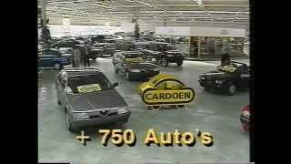 Cardoen reclame 1992 op ATV