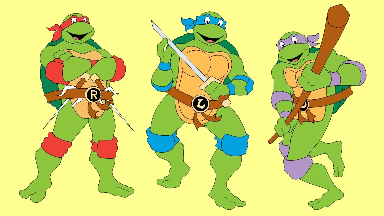 Teenage mutant ninja turtles michelangelo head