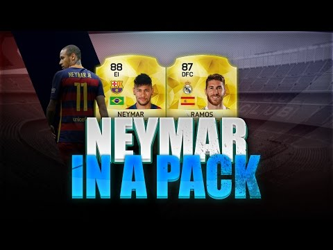 FIFA 16 | UT | Neymar y Sergio Ramos In A Pack | Sobres 25K | Pumuscor