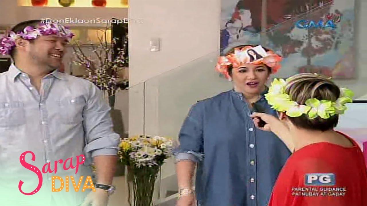 Sarap Diva: Regine Velasquez-Alcasid, naglaro ng 'Hep Hep Hooray!'