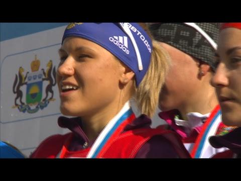 Чемпионат России по биатлону-2019. Эстафета. Женщины.
