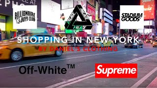 SHOPPING À NEW YORK (Supreme, Off-White, Stadium Goods, Palace, ...)