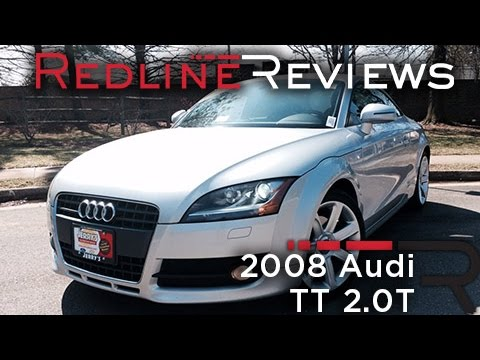 2008 Audi TT 2.0T Review. Walkaround. Exhaust. & Test Drive