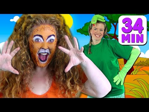 Animal Sounds Song and More! Kids Songs & Nursery Rhymes with Finger Family, Old MacDonald