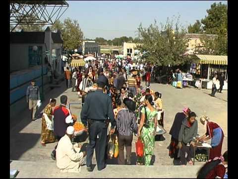Märkte und Menschen: Markt in Samarkand