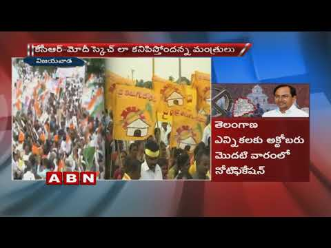Telangana early polls | CM Chandrababu Naidu discuss on pull strategy with TDP leaders