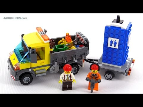 LEGO City 2015 Service Truck review! set 60073