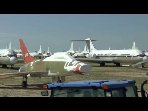 AMARG Bus Tour - The Military Aircraft Boneyard in Tucson, AZ