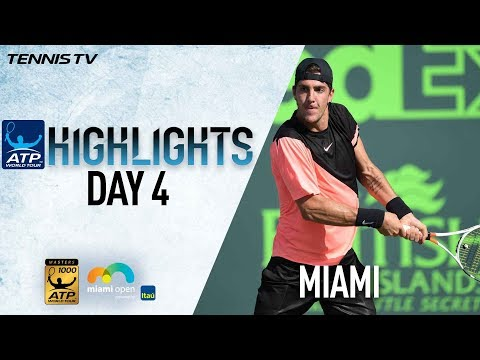 Highlights: Kokkinakis Upsets Federer, Zverev, Kyrgios Win In Miami