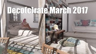 Deco(c)rate - March 2017 - Unboxing Video - Second Life Subscription Box