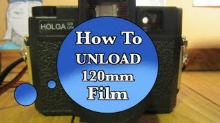 How To Unload 120 Film