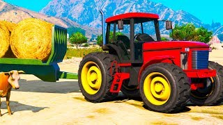 Farmer Party With Red Traktor 2